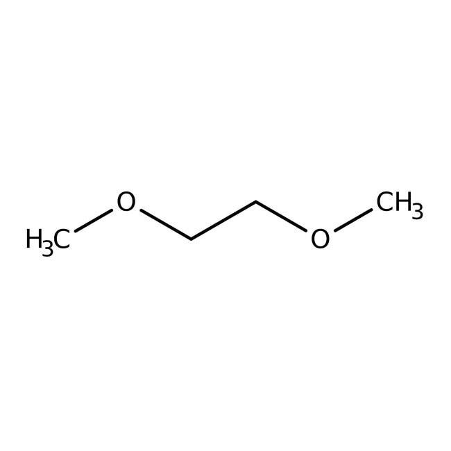 Ethylene glycol dimethyl ether, 99+%, extra pure, stabilized with BHT 2.5l Acros