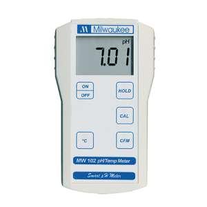 Máy đo pH, nhiệt độ điện tử MW 102 Milwaukee