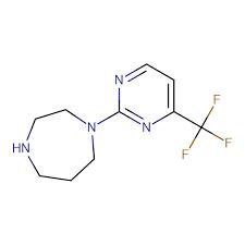 1-[4-(Trifluoromethyl)pyrimidin-2-yl]-1,4-diazepane, 95% 5g Maybridge