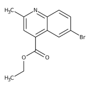 Ethyl 6-bromo-2-methylquinoline-4-carboxylate, 97% 1g Maybridge