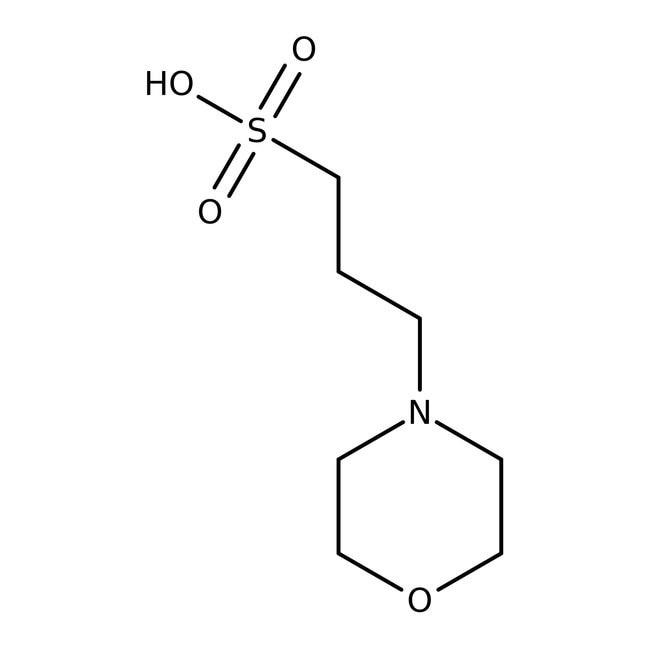 MOPS, >99.5% (titration), JustPURE™ 100ml Bioreagents