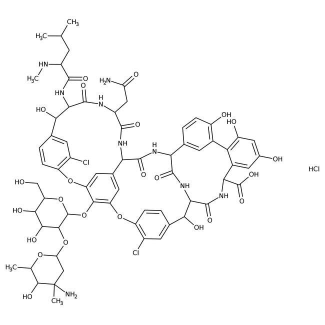 Vancomycin hydrochloride, from Streptomyces orientalis 1g Bioreagents