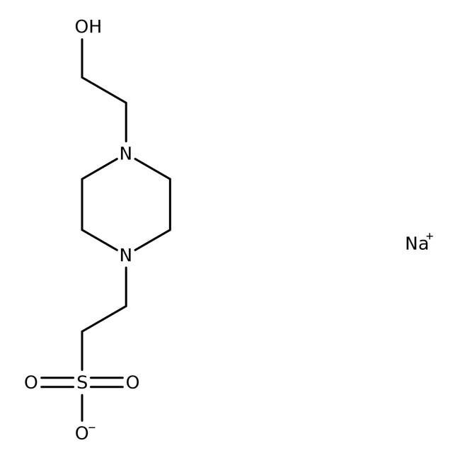 HEPES (Molecular Biology) 1kg Bioreagents