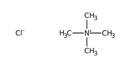 Tetramethylammonium chloride, 98+% 250g Acros