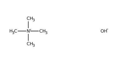 Tetramethylammonium hydroxide, 25 wt% in methanol 100g Acros