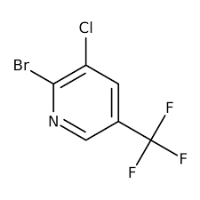 2-Bromo-3-chloro-5-(trifluoromethyl)pyridine, 97% 10g Maybridge