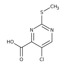 5-chloro-2-(methylthio)pyrimidine-4-carboxylic acid, 97% 1g Maybridge