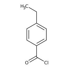4-Ethylbenzene-1-carbonyl chloride, 97% 10g Maybridge