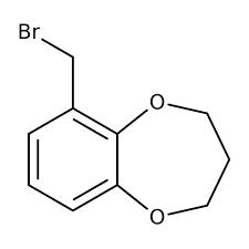 6-(Bromomethyl)-3,4-dihydro-2H-1,5-benzodioxepine, 97% 250mg Maybridge