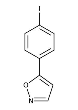 5-(4-Iodophenyl)isoxazole 97%, 250mg Maybridge