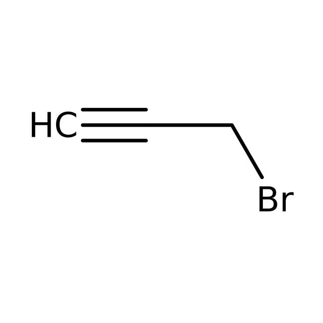 Propargyl bromide, 80 wt% solution in toluene, stabilized 250ml Acros