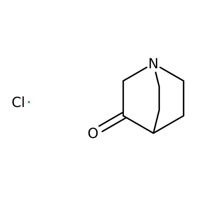 3-Quinuclidinone hydrochloride, 99%, 100g Acros