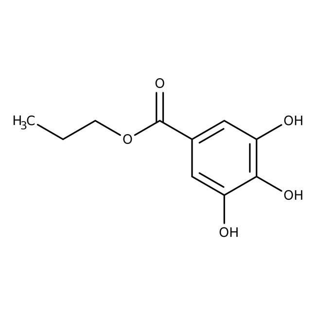 Propyl gallate, 98% 100g Acros