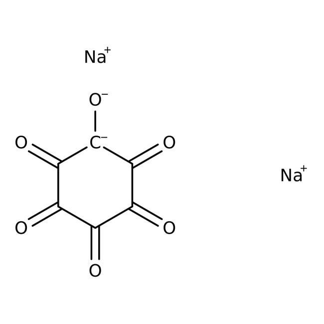 Rhodizonic acid, disodium salt, 98%, 25g Acros