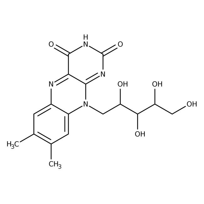 Riboflavin, 98%, 25g Acros