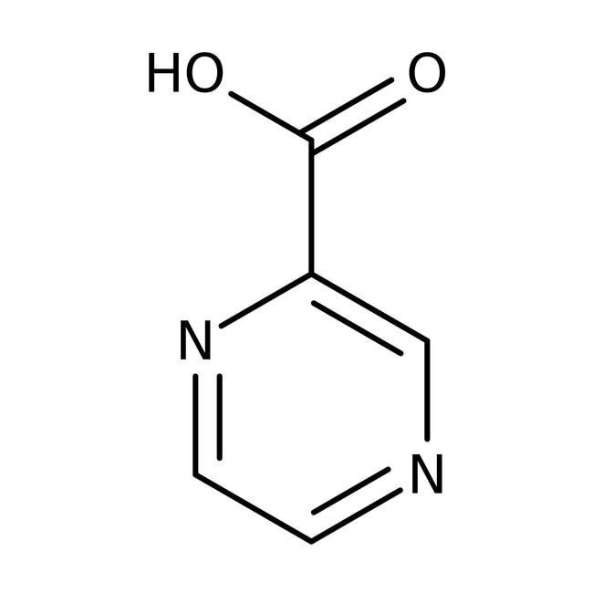 2-Pyrazinecarboxylic acid, 99%, 100g Acros