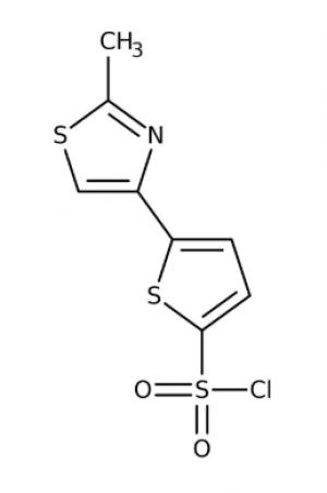 5-(2-Methyl-1,3-thiazol-4-yl)thiophene-2-sulfonyl chloride 97%, 5g Maybridge