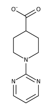 1-Pyrimidin-2-yl-piperidine-4-carboxylic acid, 5g Maybridge