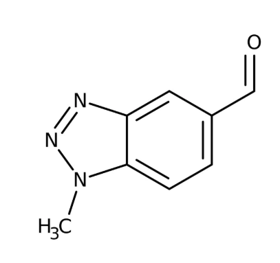 1-Methyl-1H-1,2,3-benzotriazole-5-carbaldehyde 97%,5g Maybridge