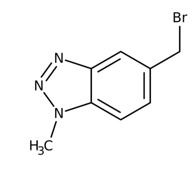 5-(Bromomethyl)-1-methyl-1H-1,2,3-benzotriazole 90+%,1g Maybridge