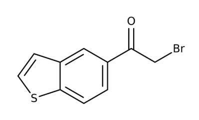 1-(1-Benzothiophen-5-yl)-2-bromo-1-ethanone 97%, 250mg Maybridge