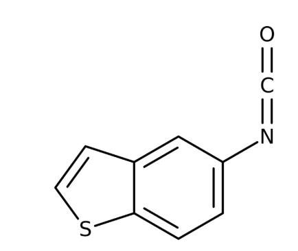 1-Benzothiophen-5-yl isocyanate 97%, 5g Maybridge