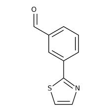 3-(1,3-Thiazol-2-yl)benzaldehyde, 97% 1g Maybridge