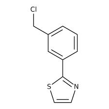 2-[3-(Chloromethyl)phenyl]-1,3-thiazole, 97% 1g Maybridge