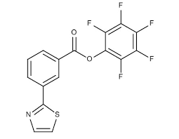 Pentafluorophenyl 3-(1,3-thiazol-2-yl)benzoate, 97% 1g Maybridge