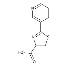 2-Pyrid-3-yl-4,5-dihydro-1,3-thiazole-4-carboxylic acid, ≥97% 250mg Maybridge