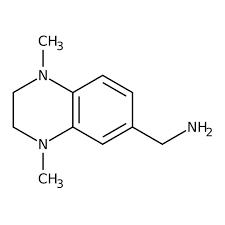 (1,4-Dimethyl-1,2,3,4-tetrahydroquinoxalin-6-yl)methylamine, ≥90% 250mg Maybridge