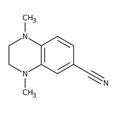 1,4-Dimethyl-1,2,3,4-tetrahydroquinoxaline-6-carbonitrile, 97% 5g Maybridge