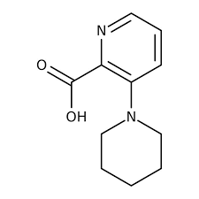 3-Piperidinopyridine-2-carboxylic acid, 97% 250mg Maybridge