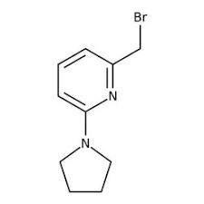 2-(Bromomethyl)-6-pyrrolidin-1-ylpyridine, 97% 1g Maybridge