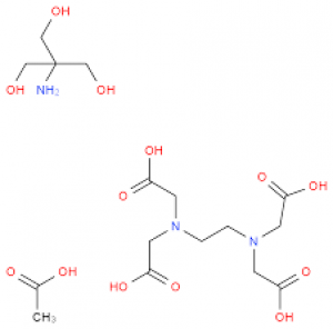 TAE Buffer, Tris-Acetate-EDTA, 25X Solution, Electrophoresis 1l Bioreagents