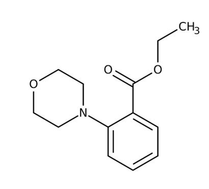 Ethyl 2-morpholinobenzoate 97%, 1g Maybridge