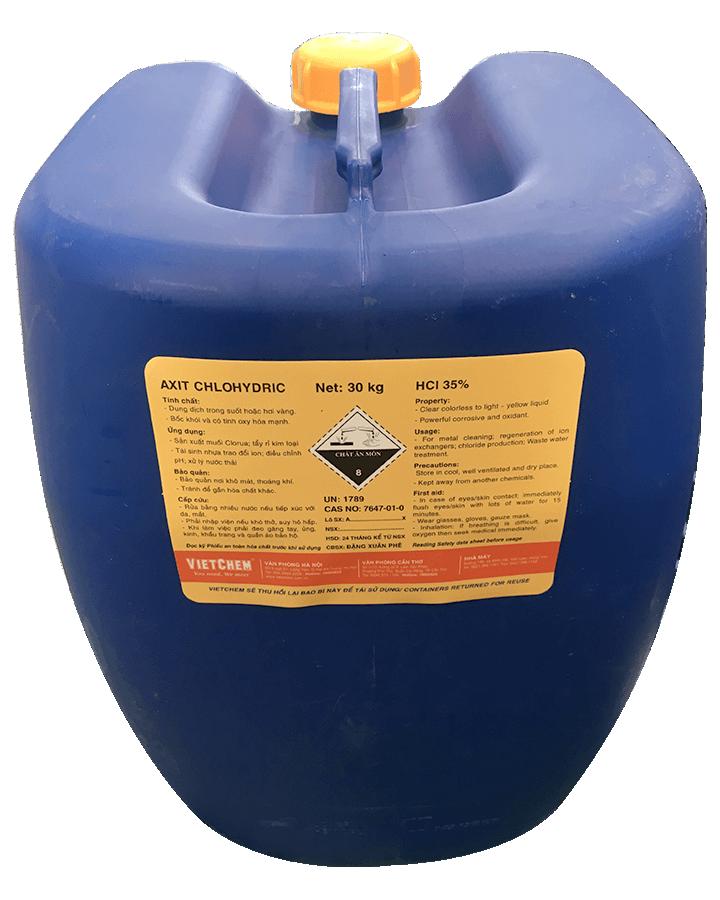 Axit Clohidric HCl 30 - 35%