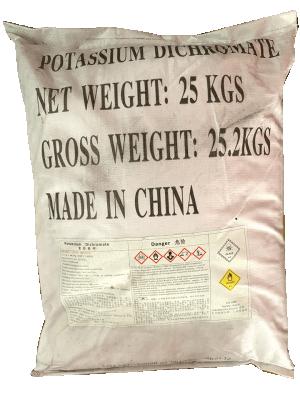 Kali Dicromat K2Cr2O7 99,7% Trung Quốc
