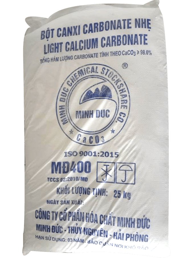 Bột Đá Vôi CaCO3 - Canxi Cacbonat
