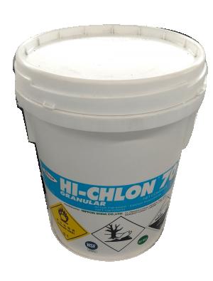 Chlorine Hi-Chlon Ca(OCl)2 70% Nhật Bản