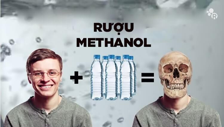 Ngộ độc rượu methanol có thể gây chết người