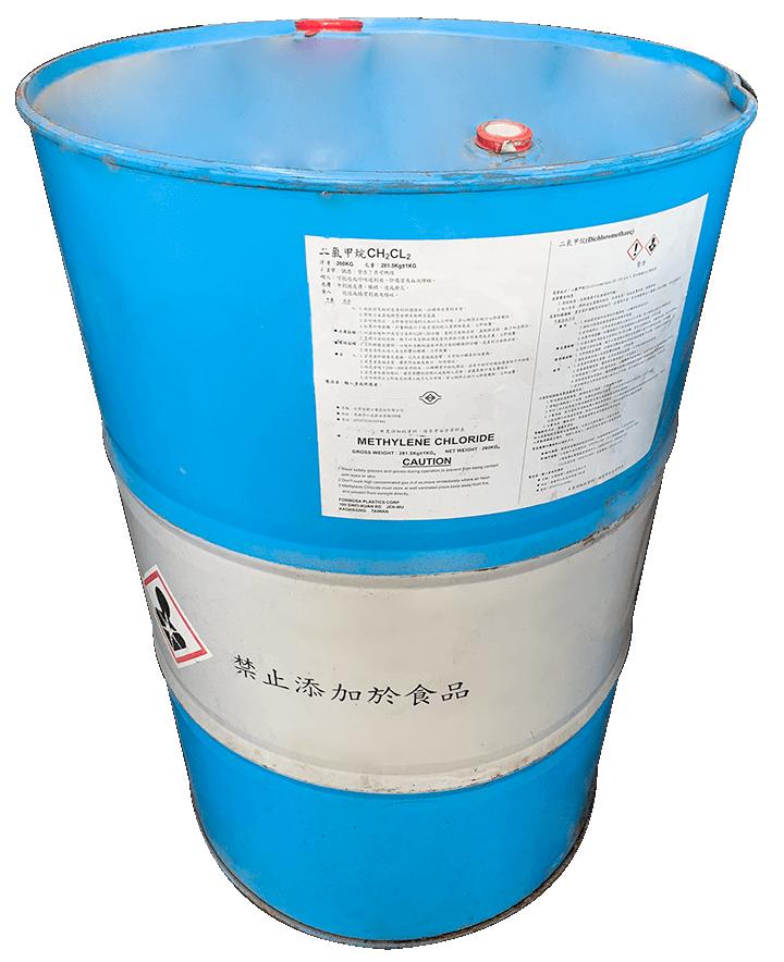 Methylene chloride (M.C) CH2Cl2
