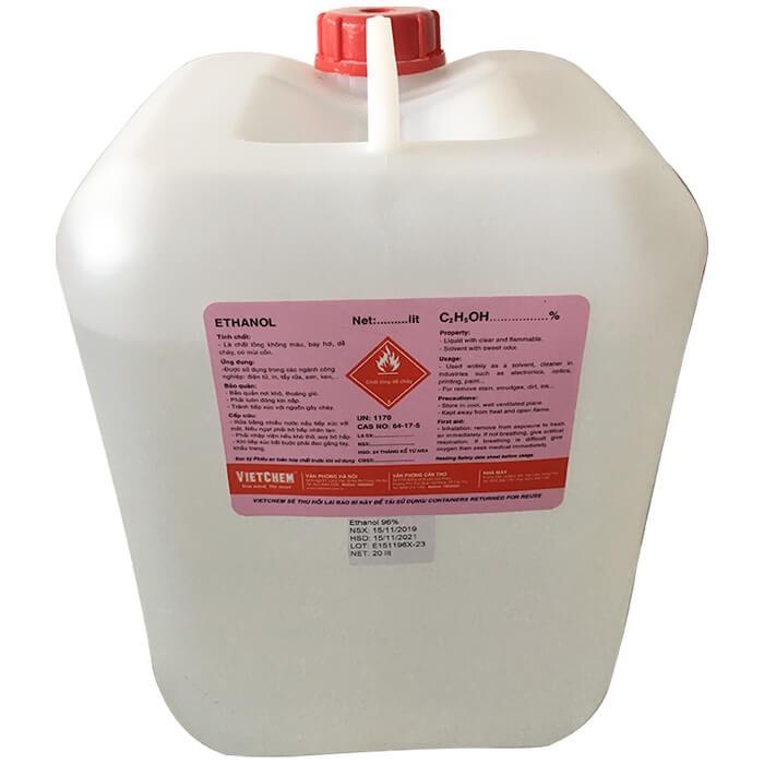 Cồn Ethanol C2H5OH Công Nghiệp