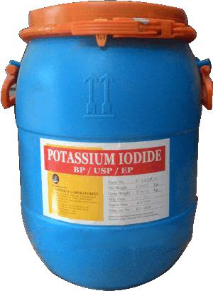 Kali Iotua KI Ấn Độ 99% - Potassium Iodide