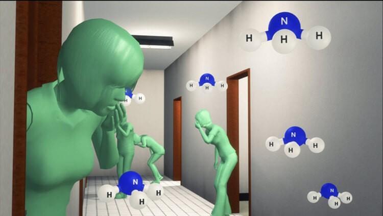 Hít phải NH3 có thể gây ngộ độc