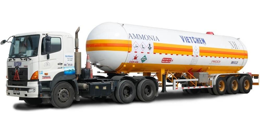 Khí Amoniac Hóa Lỏng ( Khí NH3) 99% - Ammonia Anhydrous