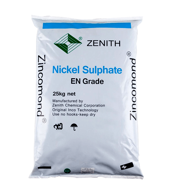 Nickel sulfate hexahydrate NiSO4.6H2O 98%