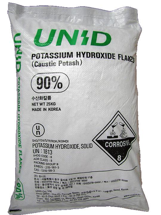 Potassium Hydroxide KOH 90%