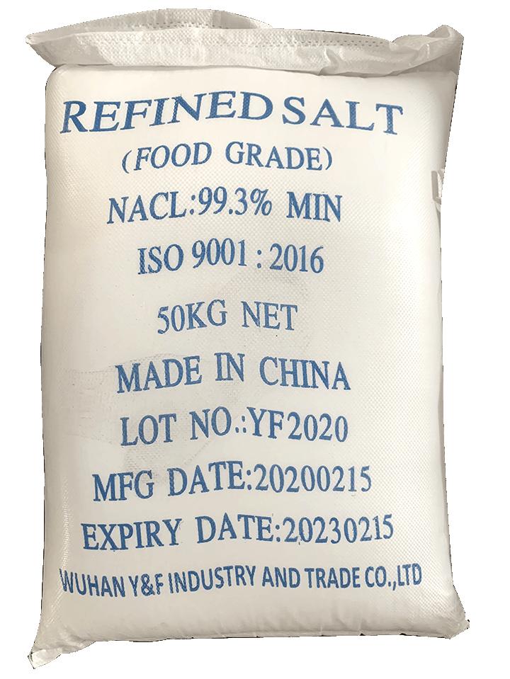 Sodium chloride NaCl 99%, Trung Quốc, 50kg/bao