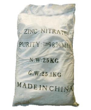 Kẽm nitrat Zn(NO3)2 98%